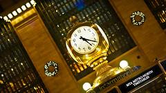 Clock at Grand Central Terminal NYC