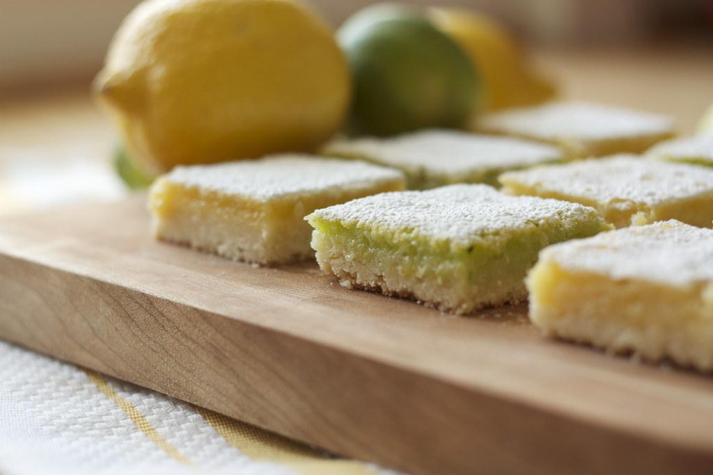 Lemon and Lime Bars