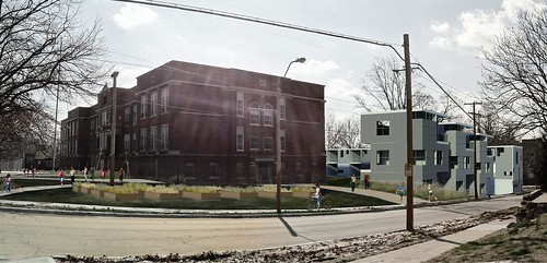 Bancroft School Housing (courtesy of BNIM Architects via Design Corps)