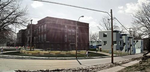 Bancroft School Housing (courtesy of BNIM Architects via Design Corps)