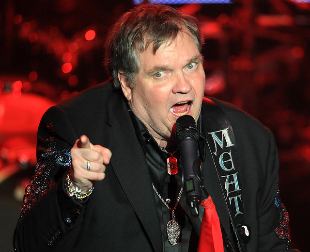 Meat Loaf performs at Mystic Lake Casino October 19, 2012
