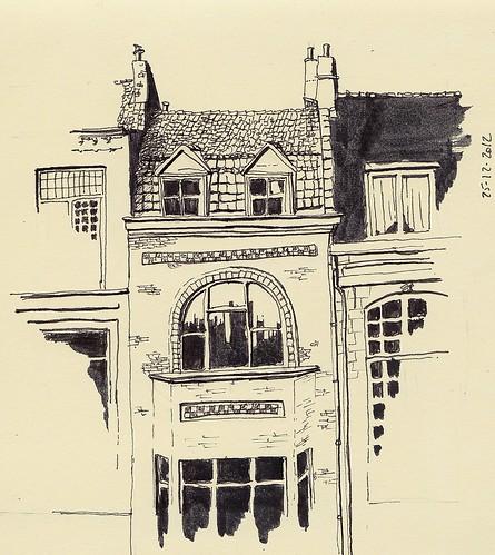 La maison d'Alberto Rodriguez, Vieux Lille by Fred Ramon