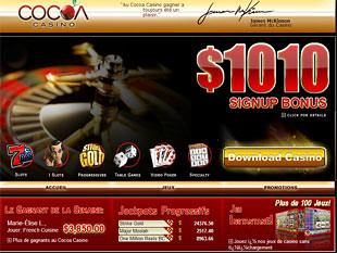 Cocoa Casino Home