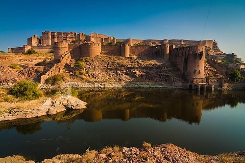 Mighty Mehrangarh Fort ..
