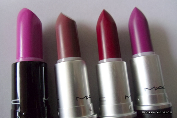 MAC Cosmetics Glamour Daze Apres Chic Strength December Collection Collections 2012 Holiday Spring Lipstick Lipsticks Limited Edition