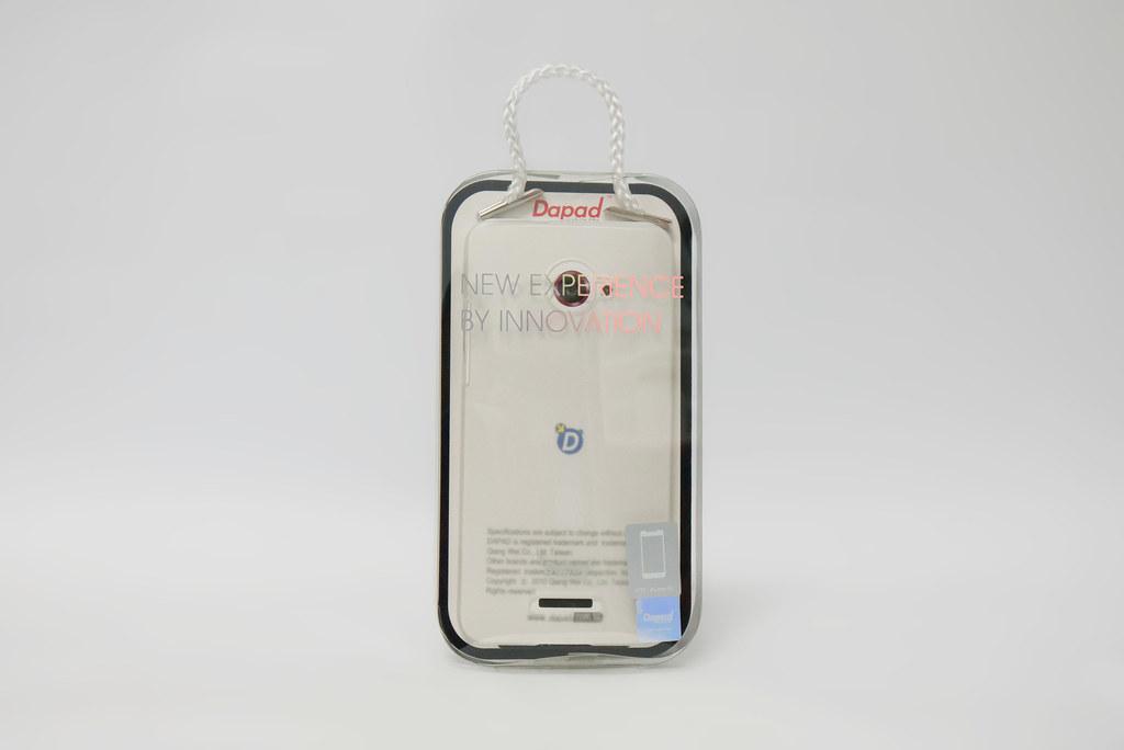HTC Butterfly 超薄磨砂白透保護殼 (Dapad) @3C 達人廖阿輝