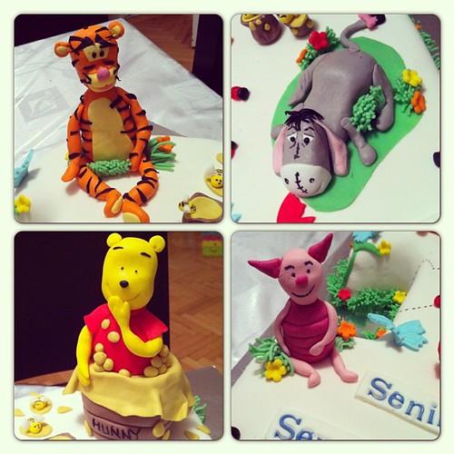 #winniethepoohandfriends#pooh#tigger#piglet#eeyore by l'atelier de ronitte