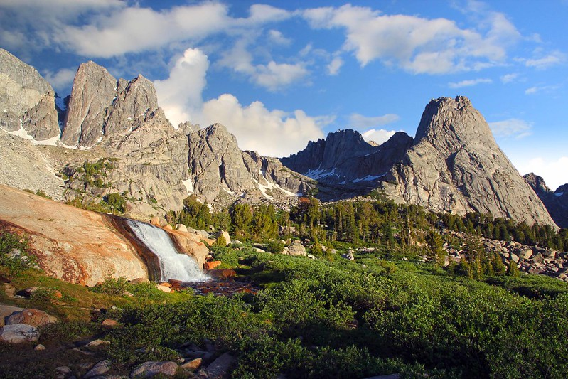 Morning at the Cirque, Cirque of the Towers, Wind River Range