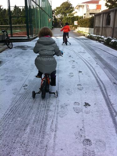 Snow in Shanghai (Dec. 30, 2012)