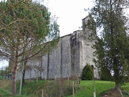Esclottes - L'Eglise Saint Blaise 04