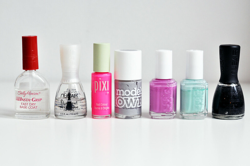 2012 favourites nail poilsh