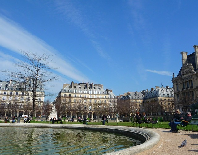 At the Jardin des Tuileries