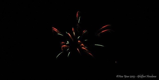 Fireworks New Year 2013