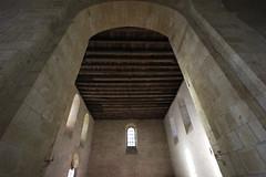 The church of Saint-Léon-sur-Vézère