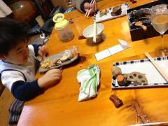 朝御飯はおせち 2013/1/1