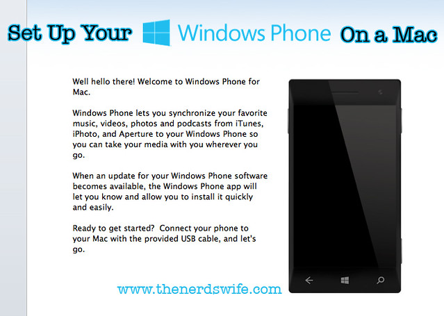 Windows Phone for Mac Button