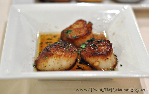 Jumbo Sea Scallops at woolley's Steakhouse ~ Bloomington, MN