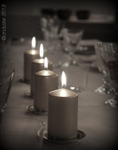 new year's eve tableset