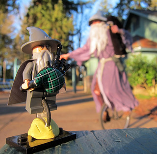 LEGO Gandalf the Unipiper