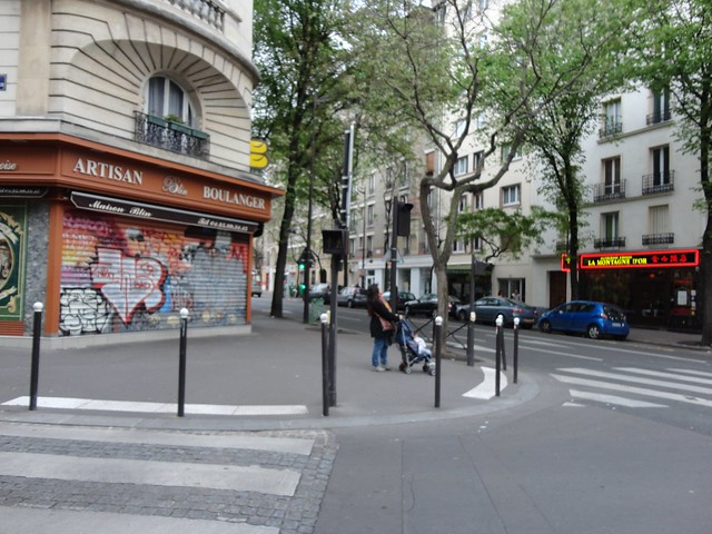 Our neighborhood in Paris