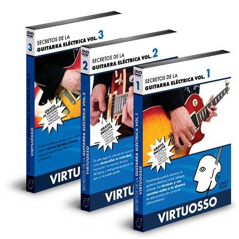Virtuosso Secretos de la Guitarra Electrica Vol 1 2 y 3