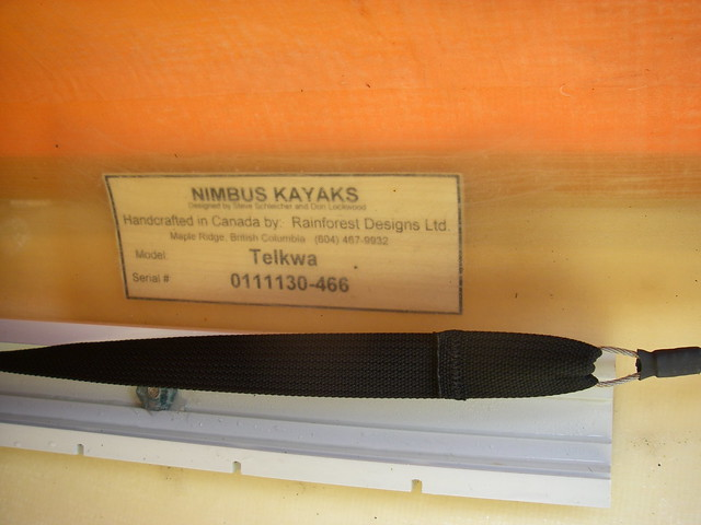 kayak serial numbers under deck