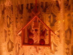 Christmas decorations downstairs