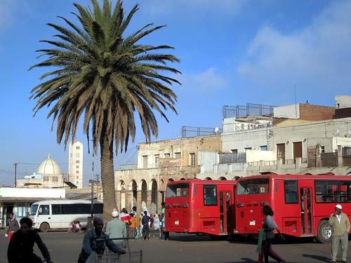 district of hazhaz in asmara eritrea january 2010