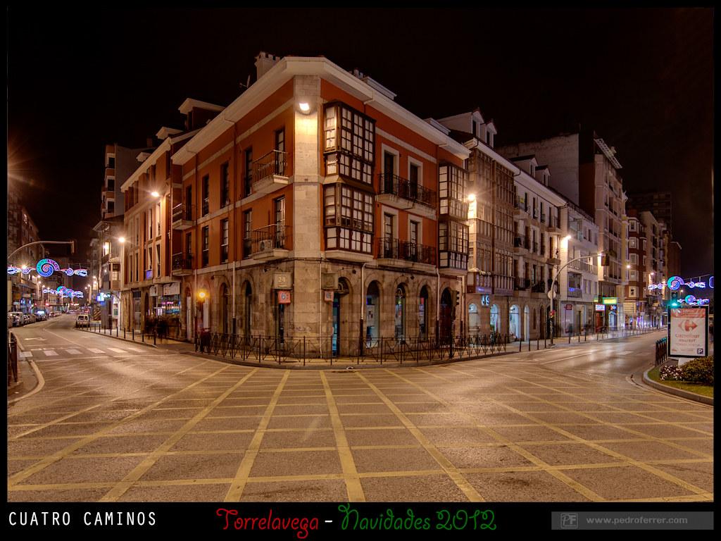Navidades Torrelavega 2012 - Cuatro Caminos