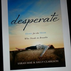 Woke up to this on my Kindle - yay! #desperatemom