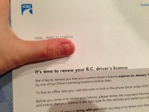 Time to Renew Your Driver's License