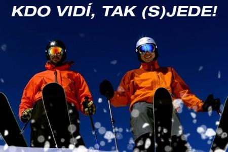 Pozor na nasleplé lyžaře!