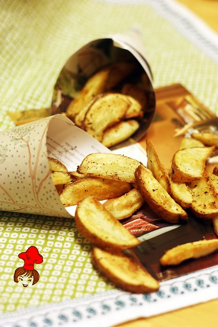 烤薯條 Oven Baked French Fries  14