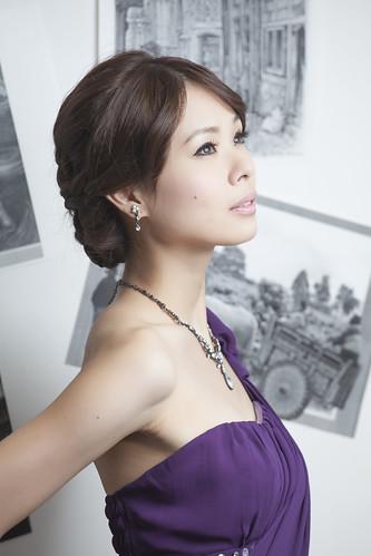 [フリー画像素材] 人物, 女性 - アジア, ワンピース・ドレス ID:201301211800