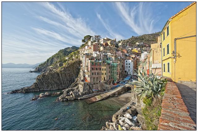 Riomaggiore, Cinque Terre, Ligurie, Italië