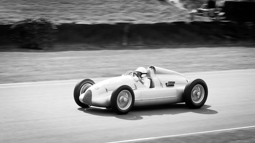 2012 Goodwood Revival: Auto Union Typ D by 8w6thgear