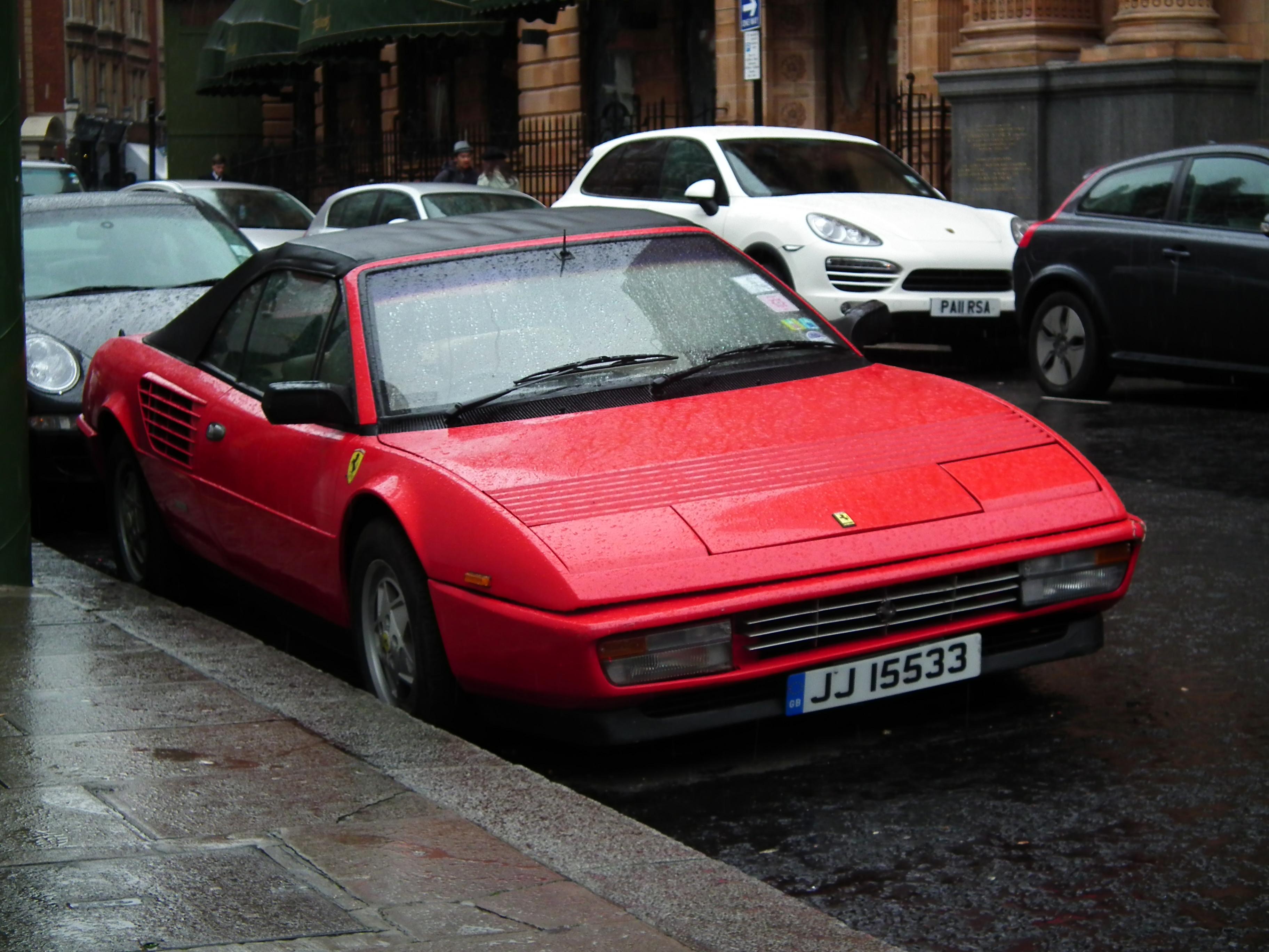 Ferrari Testarossa Cabrio - Fotos de coches - Zcoches