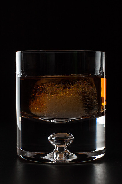 Rye Old-Fashioned | I got these wonderful new glasses for Ch ...