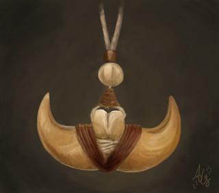 Jandar's claw necklace