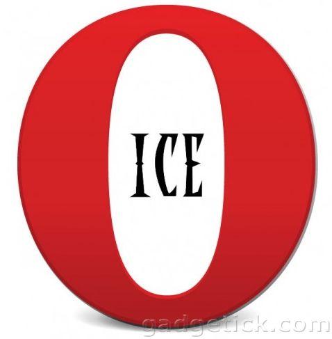 Opera Ice для iOS