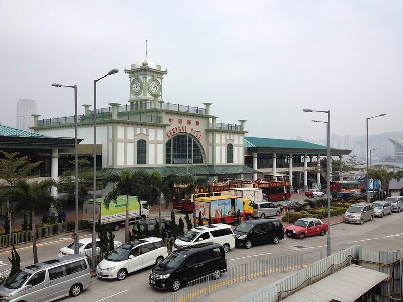 Hong Kong's Central Pier