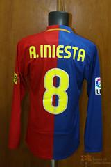 4ecfc9d7e FC Barcelona Home 2008 2009 Match Worn