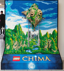 Legends of Chima Mural
