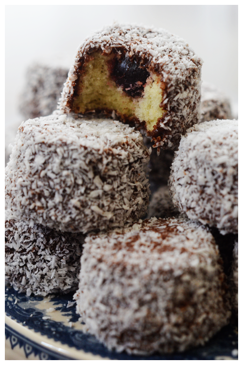amarena lamingtons© by Haalo