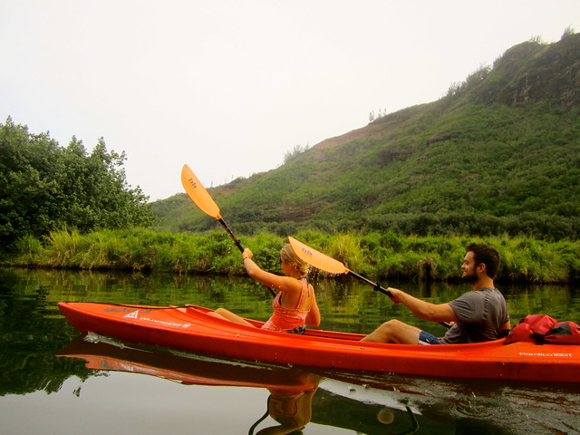 kayaking with kayak kauai