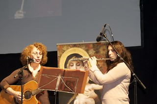 Musicians set the tone for Vassula's speech in Avignon, France, 2012