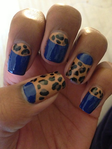 Leopard and halfmoons