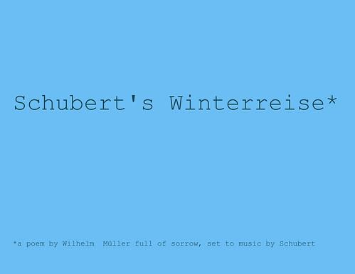 Winterreise by StefanieSophie