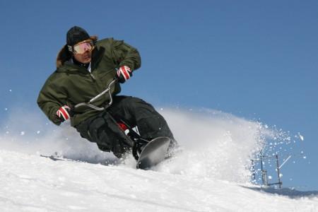 Easy riding aneb jízda na snowscootech