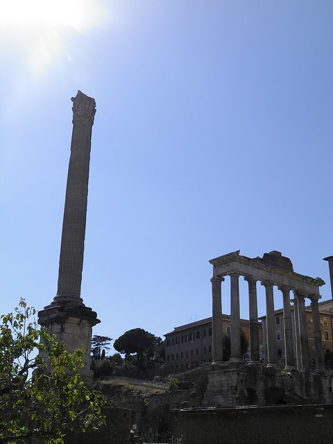 Column of Phocas, Roman Forum, Rome